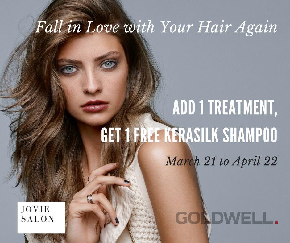 Goldwell Treatment March 2017